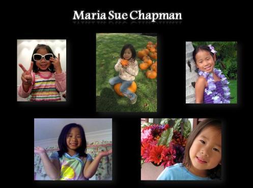 Maria Sue Chapman- Blog