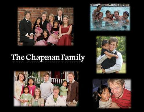 The Chapman Family- Blog 2